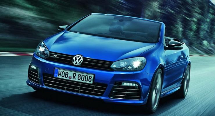 Представлен самый мощный Volkswagen Golf без крыши