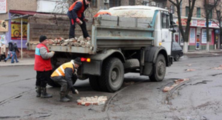 Укравтодор: ямочный ремонт закончат до 1 мая
