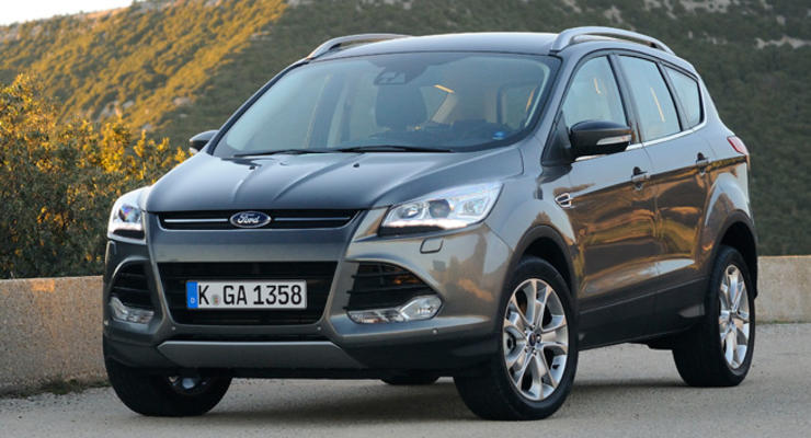Ford Kuga второго поколения: названы украинские цены
