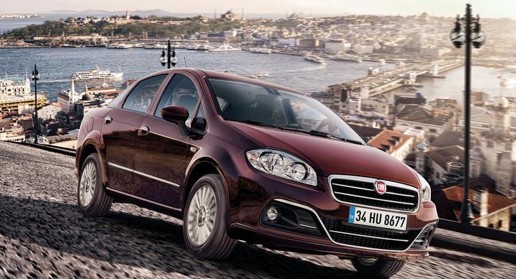 Обновленный Fiat Linea вышел на украинский рынок