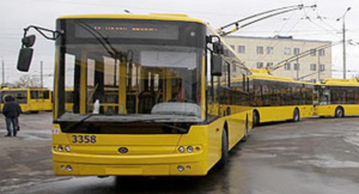 Киевпасстрансу разрешили взять многомиллионный кредит для обновления парка троллейбусов