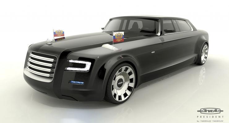 Автомобиль для президента – конкурс дизайна в России