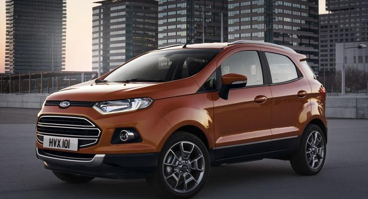 Новый мини-кроссовер Ford представили в Европе