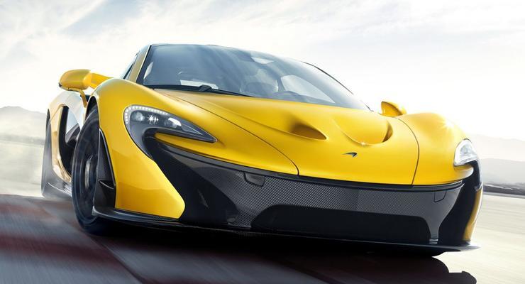 Новый McLaren P1 за миллион евро обрел товарный вид