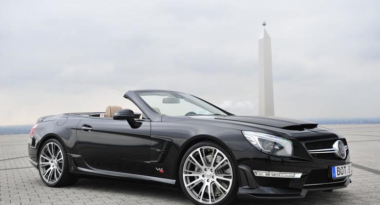 Brabus представил новый 800-сильный Mercedes SL