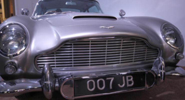 Швейцарец выставил на продажу машину Джеймса Бонда
