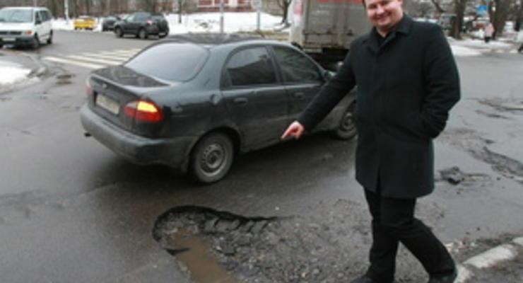 Украинские дороги не выдержали безденежья и воровства