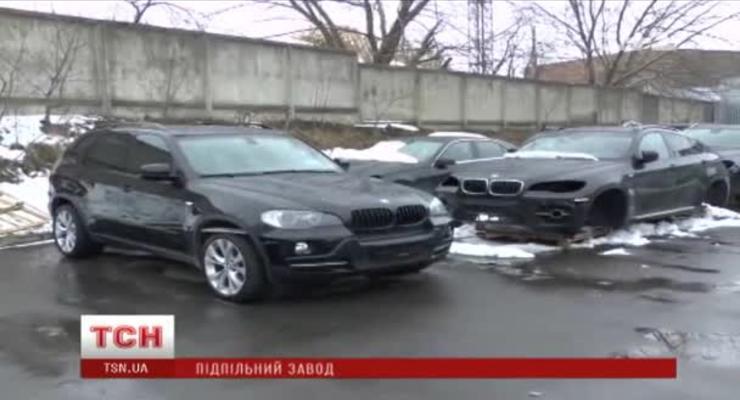 В Ровно накрыли подпольный завод BMW и Mercedes