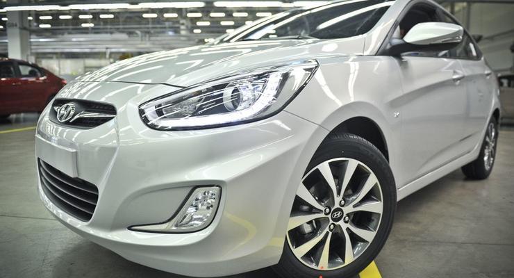 Hyundai начал производство Акцентов со светодиодами