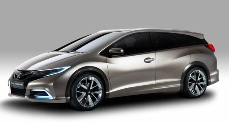 Honda показала, каким будет Civic в кузове универсал