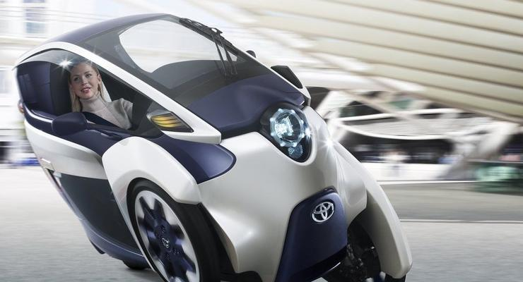 Toyota рассекретила машину с моторами в колесах