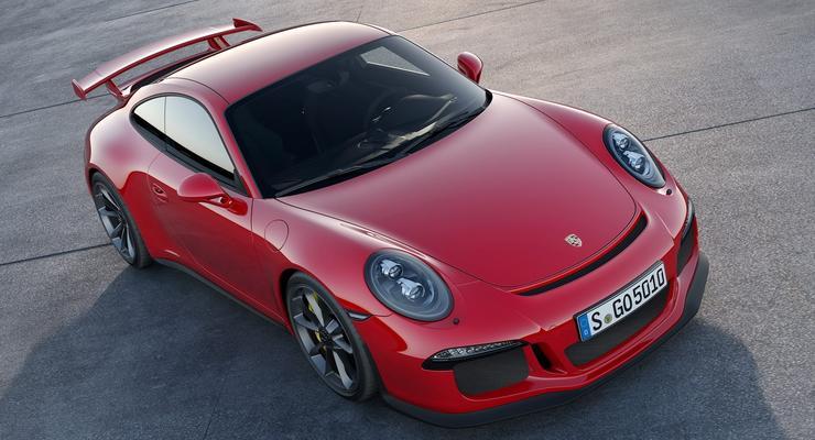 Новый Porsche 911 GT3 поворачивает всеми колесами