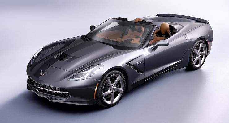 Новый Chevrolet Corvette Stingray избавился от крыши