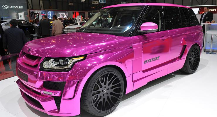 Немцы сделали самый гламурный Range Rover в мире