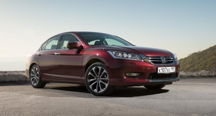 Новый Honda Accord получил прайс-лист в Украине