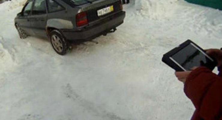 Россияне сделали управляемый iPad-ом автомобиль