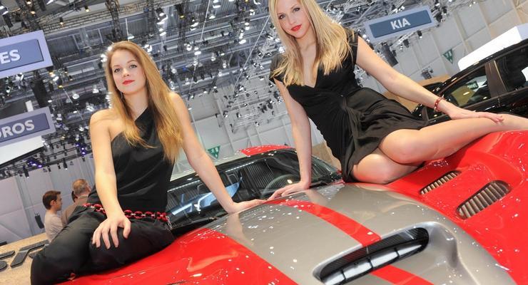 Женевский автосалон  - 2013: лучшие девушки выставки