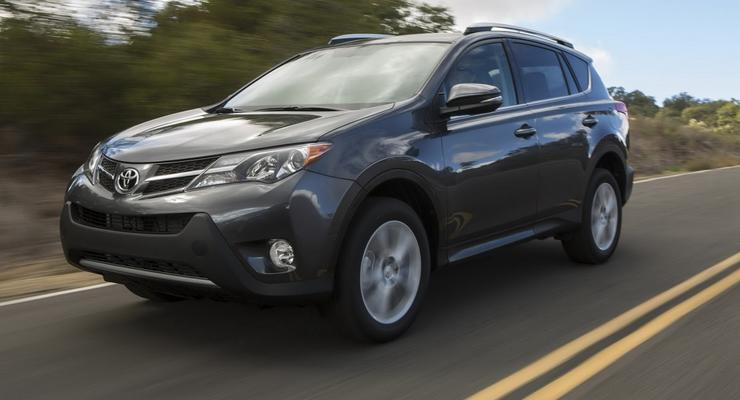 Тест-драйв нового Toyota RAV4 четвертого поколения