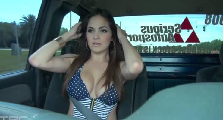 Правильный пикап или большой машине – большая грудь