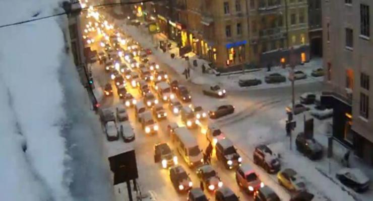 Пробки в Киеве достигали 21 км – рекорд столицы