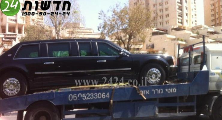 Cadillac Обамы заправили соляркой вместо бензина