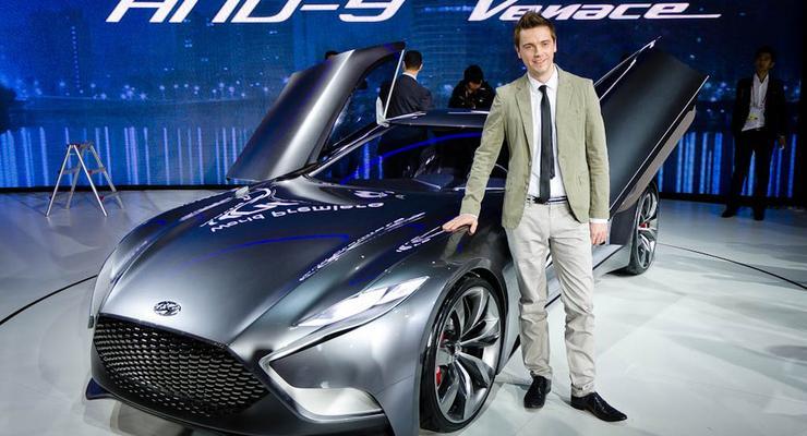 Дизайн нового концепта Hyundai придумал украинец