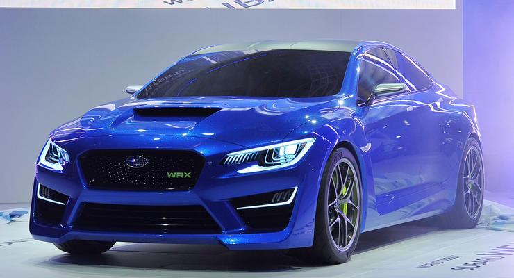 Прототип новой Subaru WRX выставили на обозрение