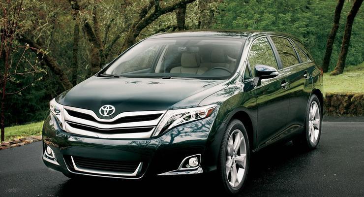 Американская Toyota Venza: названы цены в Украине