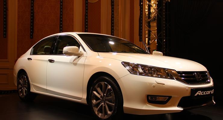 Новое поколение Honda Accord вышло в Украине