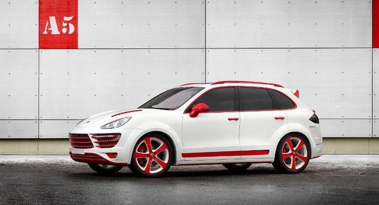 Красный дракон: что можно сделать из Porsche Cayenne