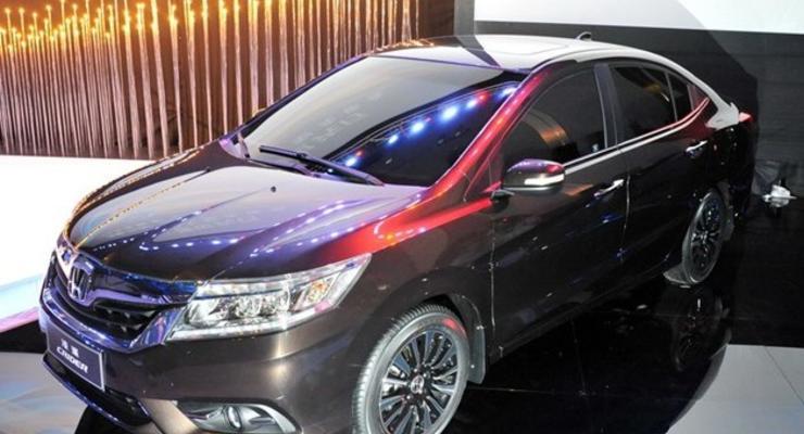 Honda рассекретила в Шанхае новый седан Crider