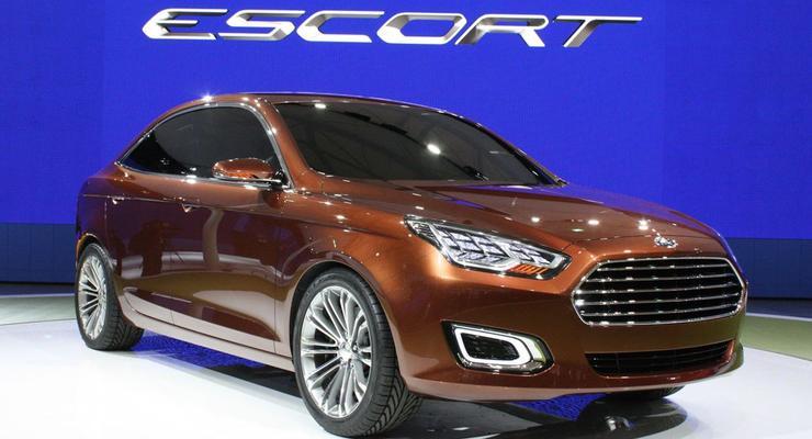 Премьера Ford Escort. Новый концепт со старым именем