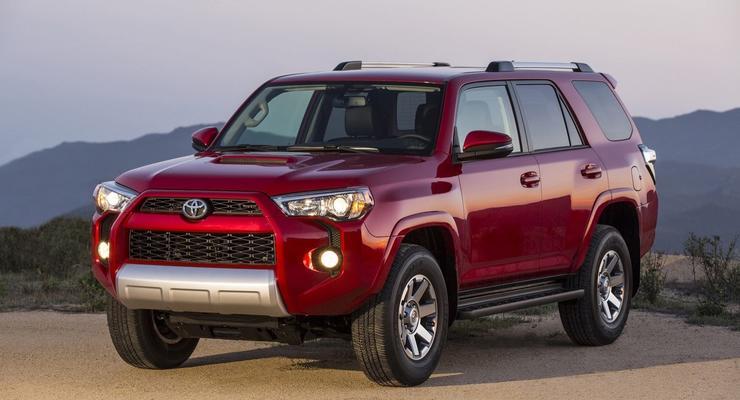 Toyota 4Runner обновили и сделали агрессивней