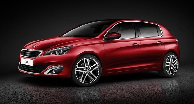 Peugeot 308 нового поколения: первые фотографии