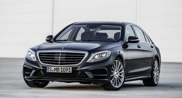 Новый Mercedes S-Class. Ждите в автопарке Януковича