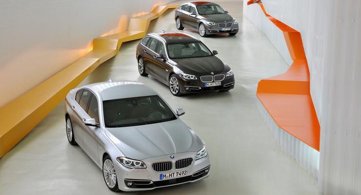 Немцы рассекретили обновленный BMW 5-Series