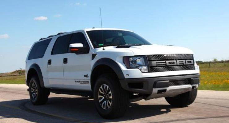 Пикап Ford стал мощным 8-местным внедорожником