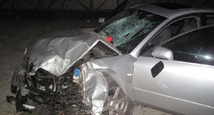 В Киеве Audi насмерть сбила студента на тротуаре