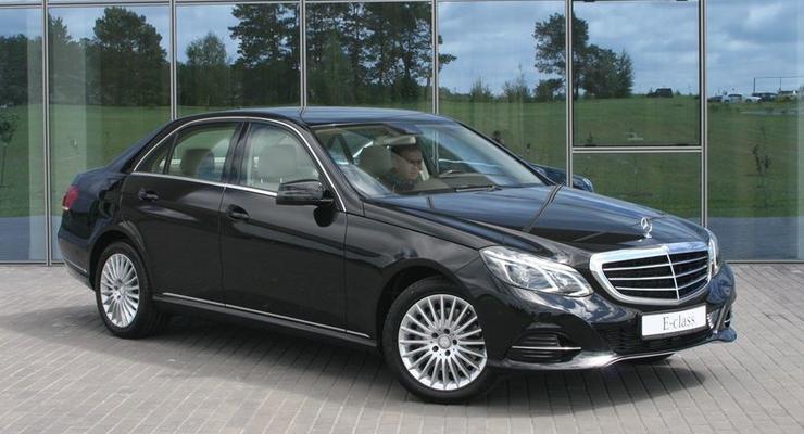 Обновленный Mercedes E-Class показали украинцам