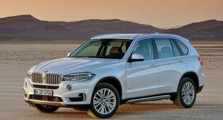 Новый BMW X5 рассекречен: фото и характеристики