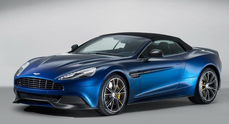 Aston Martin рассекретил самый дорогой кабриолет