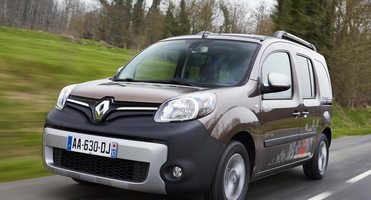Обновленный Renault Kangoo привезли в Украину