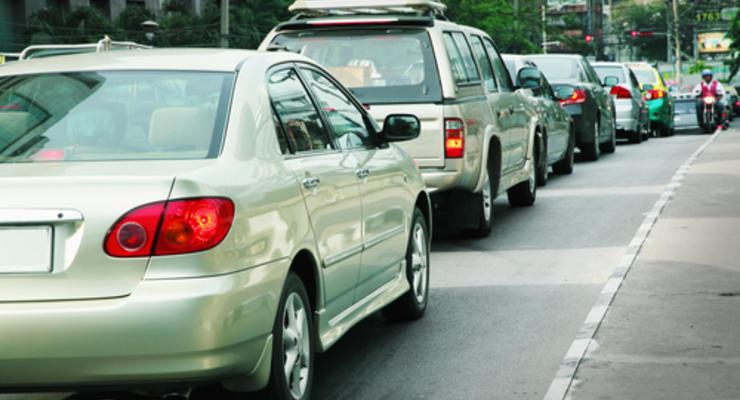 Пробки в Киеве: ТОП-5 самых крупных за неделю