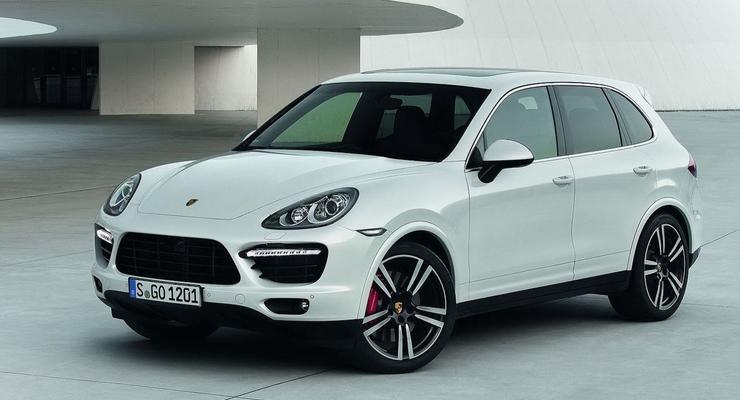В Украине Porsche Cayenne продается лучше Chery QQ