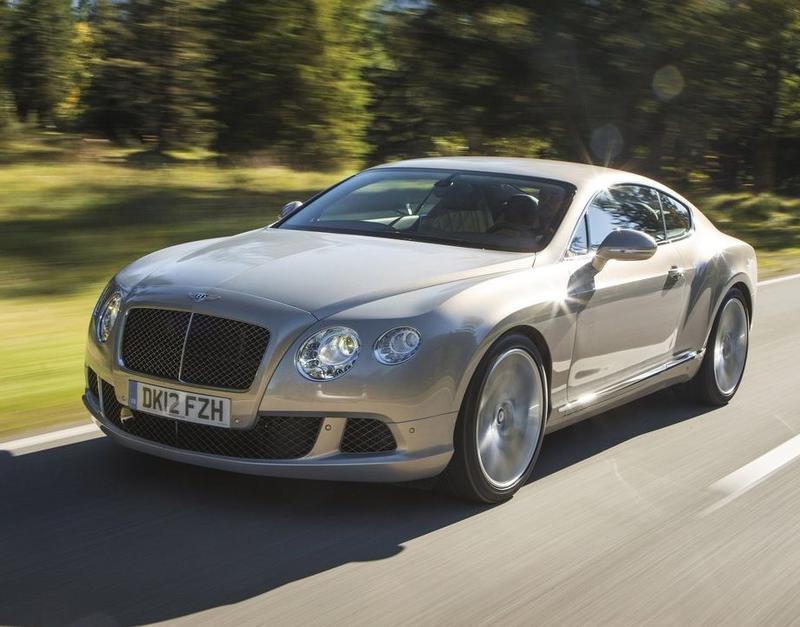 Украинцы купили 18 Bentley за последние полгода / Bentley