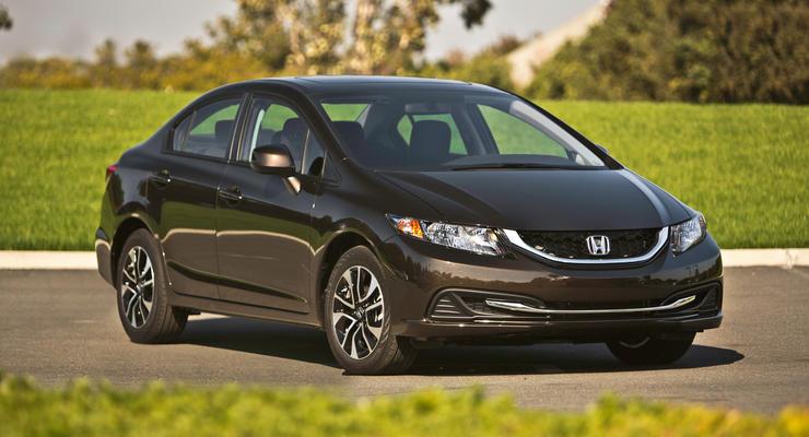 В Украине появился обновленный седан Honda Civic