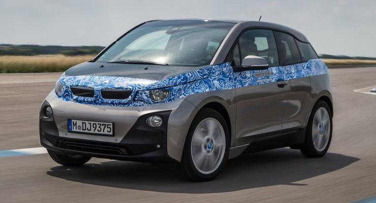 Немцы назвали цену первого электромобиля BMW