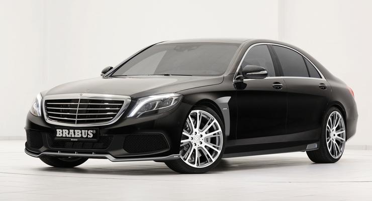 Brabus обработал Mercedes S-Class нового поколения