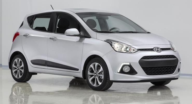 Hyundai i10 нового поколения. Первые фото и видео