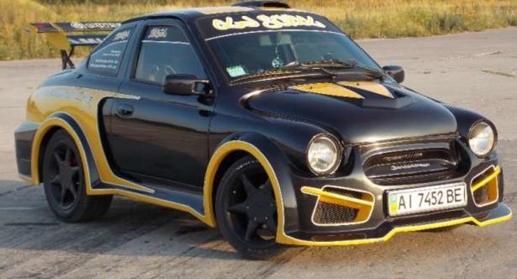 Безумный тюнинг по-украински: ТОП-10 автомобилей